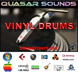 Vinyl Drum Kit - Soundfonts Sf2 | Music | Rap and Hip-Hop