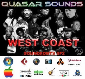 West Coast Hip Hop - Soundfonts Sf2 | Music | Rap and Hip-Hop