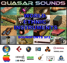 world & ethnic instruments - soundfonts sf2