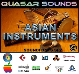 Asian Instruments - Soundfonts Sf2 | Music | World