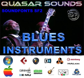 blues instruments - soundfonts sf2
