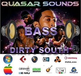 Dirty South Bass Vol.1  - Soundfonts Sf2 | Music | Rap and Hip-Hop