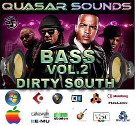 Dirty South Bass Vol.2  - Soundfonts Sf2 | Music | Rap and Hip-Hop