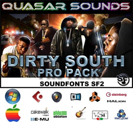dirty south massive pro pack 1 - soundfonts sf2