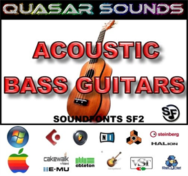 Acoustic Bass Soundfonts Instruments | Music | Soundbanks