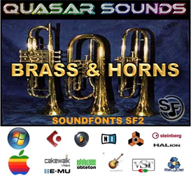 Brass & Horns Soundfonts Instruments | Music | Soundbanks