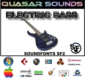 Electric Bass Soundfonts Instruments | Music | Soundbanks