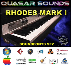Fender Rhodes Mki Soundfont Instrument | Music | Soundbanks