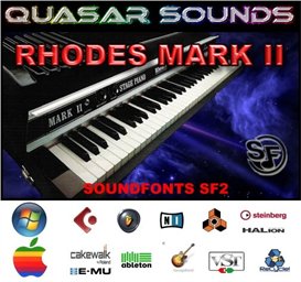 Fender Rhodes Mkii Soundfont Instrument | Music | Soundbanks