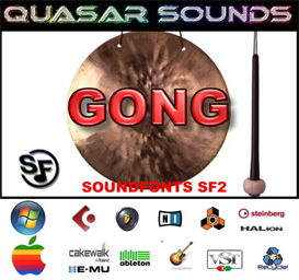 Gong Soundfonts Instruments | Music | World