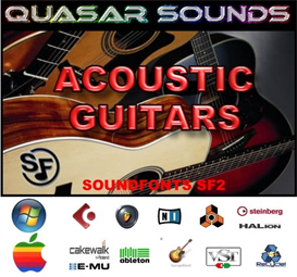 Acoustic Guitars Soundfonts Instruments | Music | Soundbanks