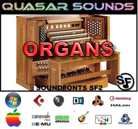 Organ Soundfonts Instruments | Music | Soundbanks