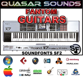 Roland Fantom Guitars - Soundfonts Sf2 | Music | Soundbanks