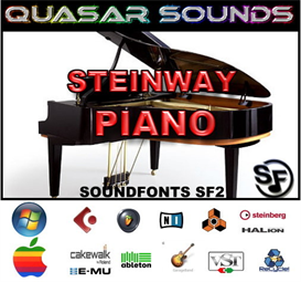 Steinway Grand Piano Soundfont Instrument | Music | Soundbanks