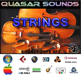 Strings Soundfonts Instruments | Music | Soundbanks