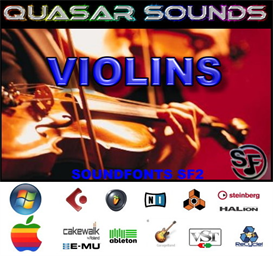 Violins Soundfonts Instruments - Sf2 | Music | Soundbanks