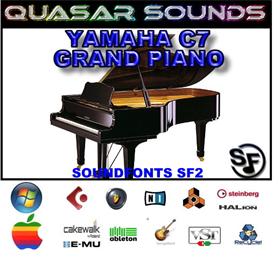 Yamaha C7 Grand Piano Soundfont Instrument | Music | Soundbanks