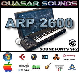 Arp 2600 - Soundfonts Sf2 | Music | Soundbanks