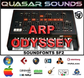Arp Odyssey - Soundfonts Sf2 | Music | Soundbanks