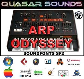 arp odyssey - soundfonts sf2
