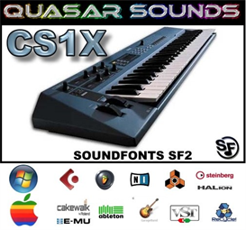 Yamaha Cs1x - Soundfonts Sf2 | Music | Soundbanks