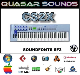 Yamaha Cs2x - Soundfonts Sf2 | Music | Soundbanks