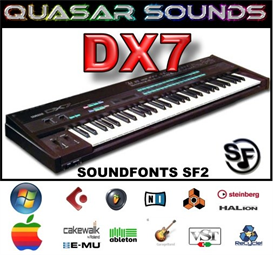 Yamaha Dx7 - Soundfonts Sf2 | Music | Soundbanks