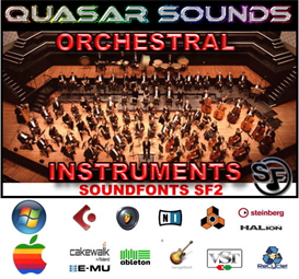 Emu Orchestral - Soundfonts Sf2 | Music | Soundbanks