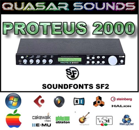 Emu Proteus 2000  - Soundfonts Sf2 | Music | Soundbanks