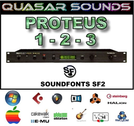 Emu Proteus 1-2-3 Soundfonts Sf2 | Music | Soundbanks