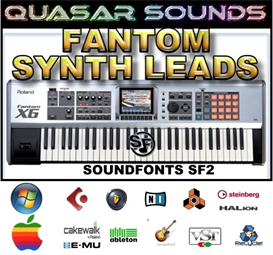 roland fantom synth leads - soundfonts sf2