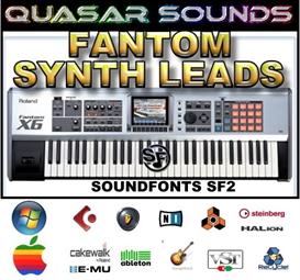 Roland Fantom Synth Leads - Soundfonts Sf2 | Music | Soundbanks