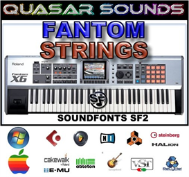 Roland Fantom Orchestra Strings - Soundfonts Sf2 | Music | Soundbanks