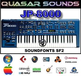 Roland Jp-8000 - Soundfonts Sf2 | Music | Soundbanks
