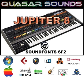 Roland Jupiter 8 - Soundfonts Sf2 | Music | Soundbanks