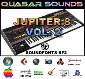 Roland Jupiter 8 Vol.2  - Soundfonts Sf2 | Music | Soundbanks