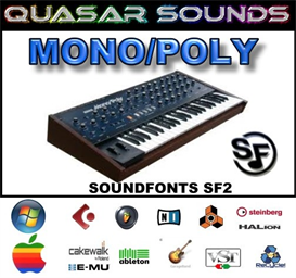 Korg Mono/Poly - Soundfonts Sf2 | Music | Soundbanks