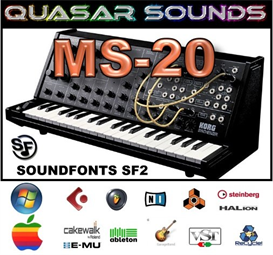 Korg Ms-20  Soundfonts Sf2 | Music | Soundbanks