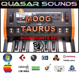 Moog Taurus  Soundfonts Sf2 | Music | Soundbanks