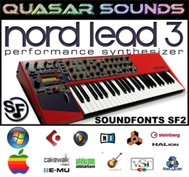 Clavia Nord Lead 3  - Soundfonts Sf2 | Music | Soundbanks