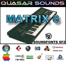 Oberheim Matrix 6  Soundfonts Sf2 | Music | Soundbanks