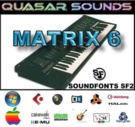 Oberheim Matrix 6  Soundfonts Sf2 | Music | Soundbanks