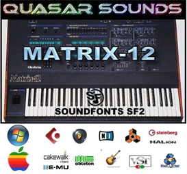 Oberheim Matrix 12  Soundfonts Sf2 | Music | Soundbanks