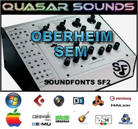 oberheim sem  -  soundfonts sf2