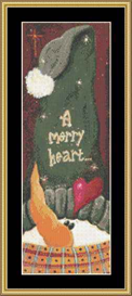 A Merry Heart - Cross Stitch Download | Crafting | Cross-Stitch | Other
