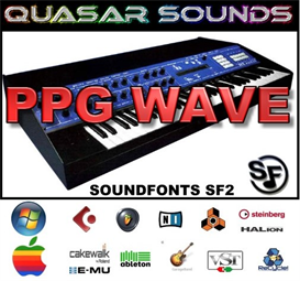ppg wave 2.3  - soundfonts sf2