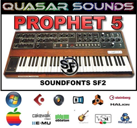 Prophet 5  - Soundfonts Sf2 | Music | Soundbanks