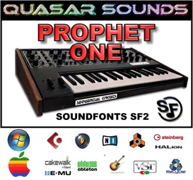 Prophet One  - Soundfonts Sf2 | Music | Soundbanks