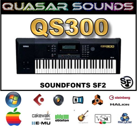 Yamaha Qs-300  Soundfonts Sf2 | Music | Soundbanks