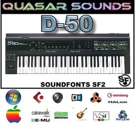 Roland D-50  Soundfonts Sf2 | Music | Soundbanks